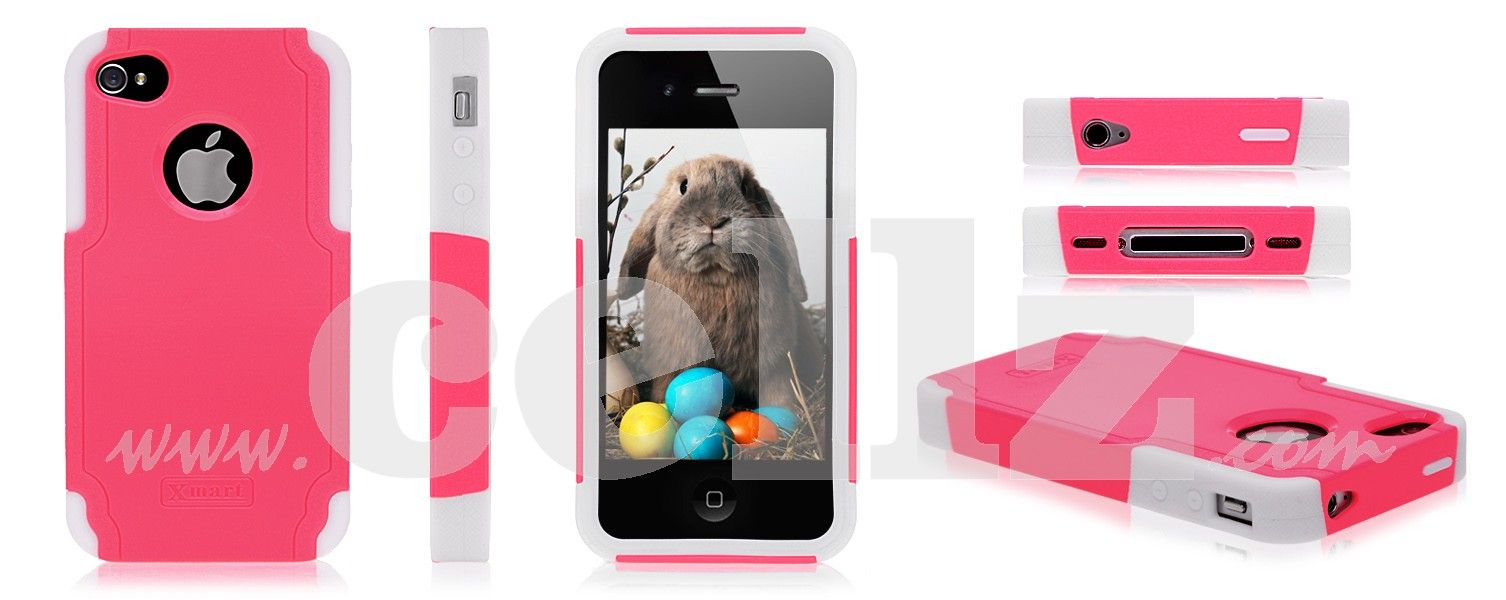 iPhone 4 case - Profesional Double Protection Cell Phone Cover for iPhone 4 & iPhone 4S $5.71 # ...