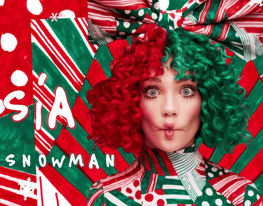 Sia 2021 Christmas Album Sia Snowman Snowman Christmas Costumes Sleigh Ride