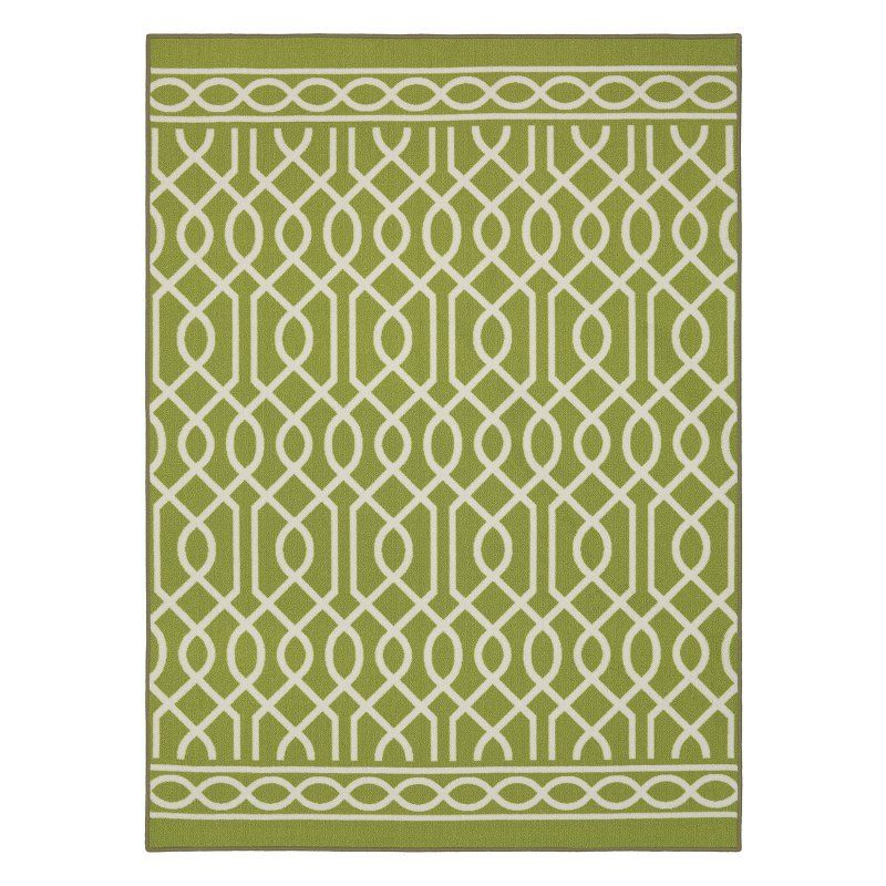 Mohawk Home Soho Twisted Rope Indoor Area Rug Green - 12736 414 090120