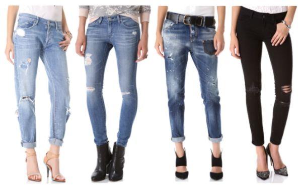 best ripped jeans for women - Jean Yu Beauty