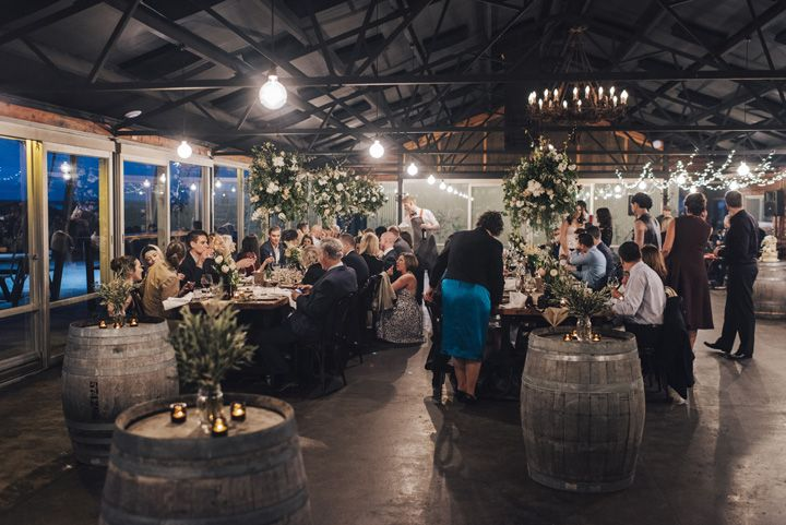 Rustic Wedding Reception | itakeyou.co.uk #wedding #rustic #rusticwedding #barnwedding #vineyardwedding #realwedding #weddingphotos