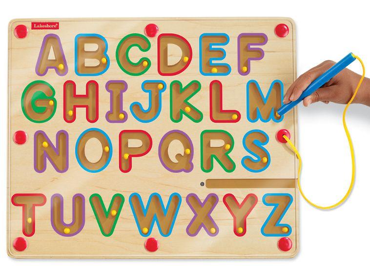 magnetic letter board uppercase