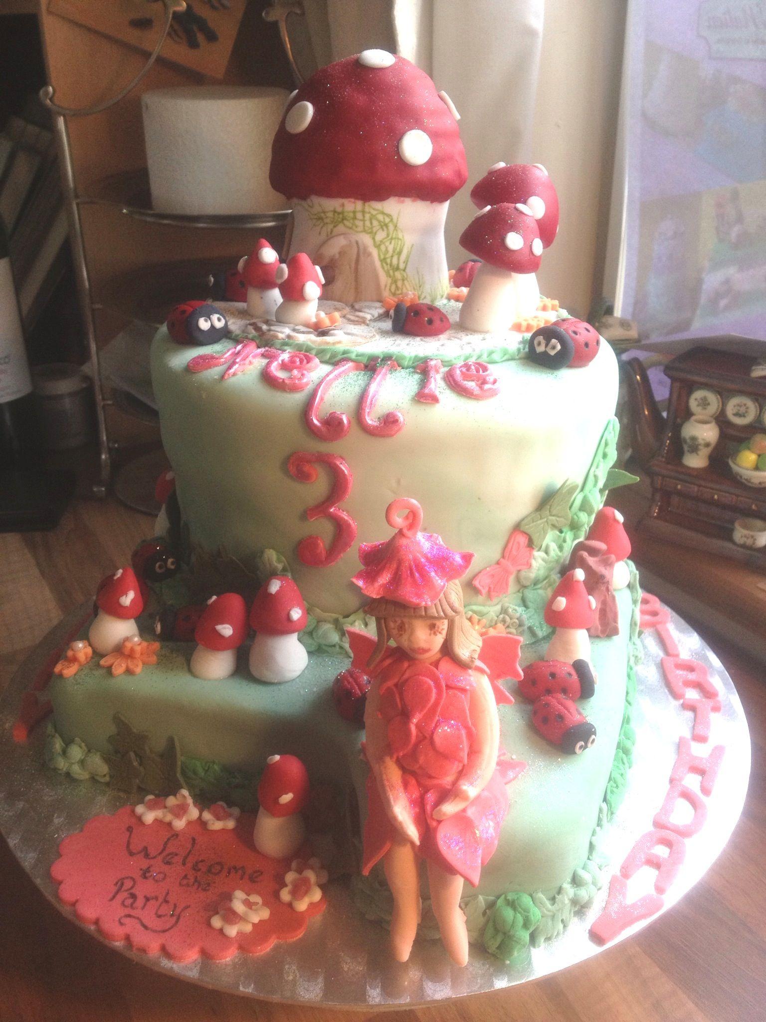 Woodland fairy cake | Woodland fairy cake, Fairy cake ...