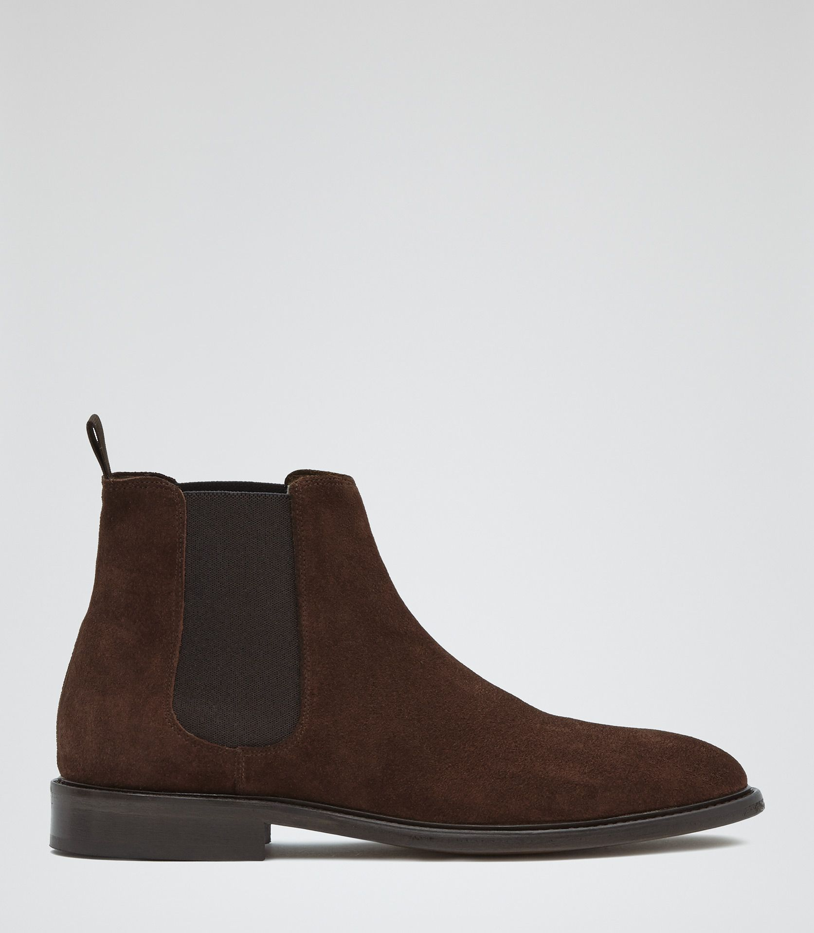 Discount Grenson Brown Marcus Suede Desert Boots for Men On Sale