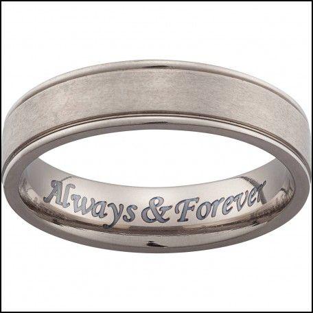 Engraving On Mens Wedding Rings Grawer Pinterest Weddings