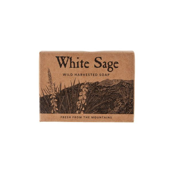 Juniper ridge - old package design - white sage soap - their product design is what drew me to them years ago, and the fragrances of their products are so good