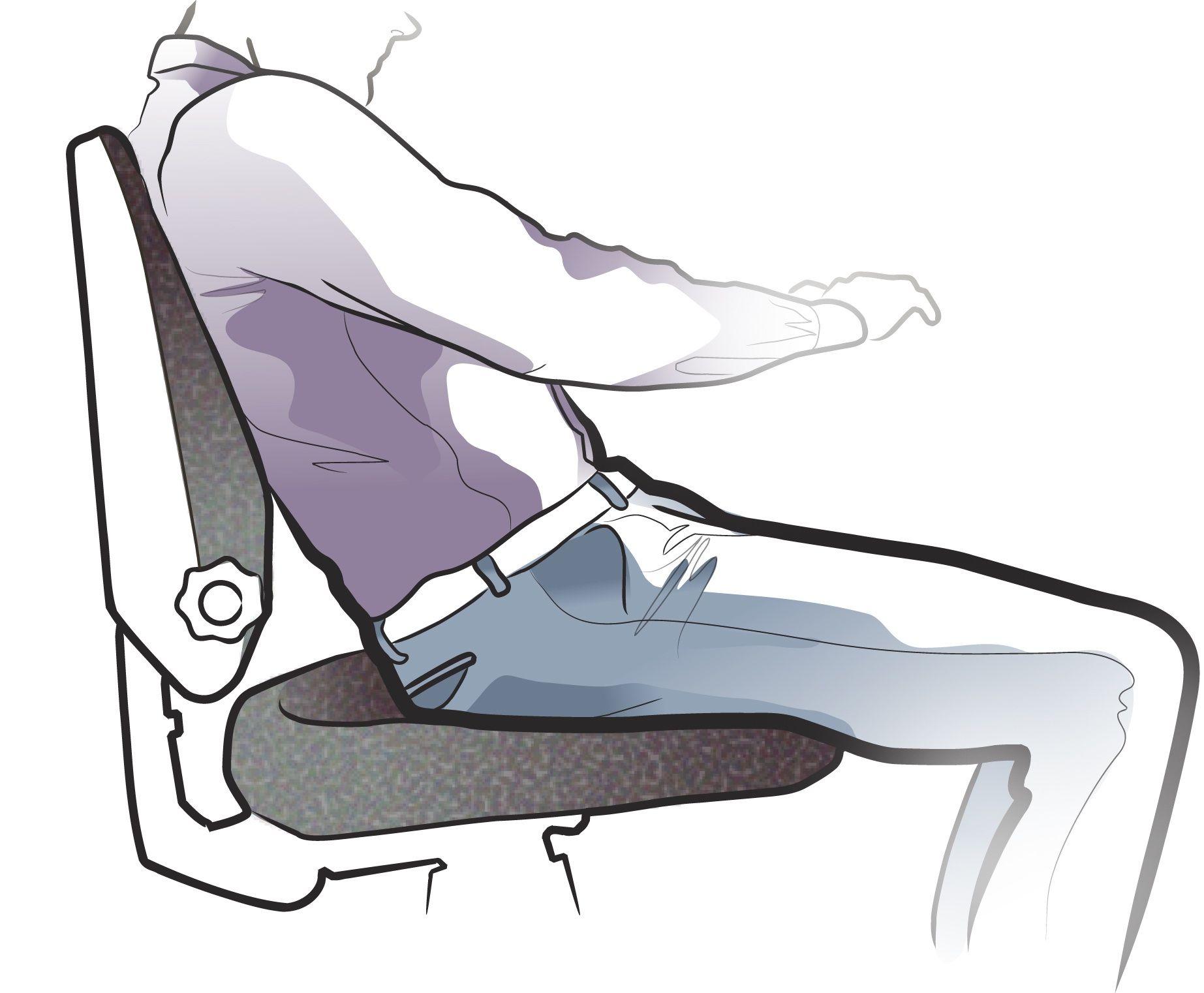 Terrible sitting posture Sloucho Ergonomics Sitting Position