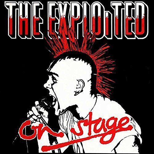 The Exploited On Stage Lp Vinyl Rock Posters Lp Vinyl