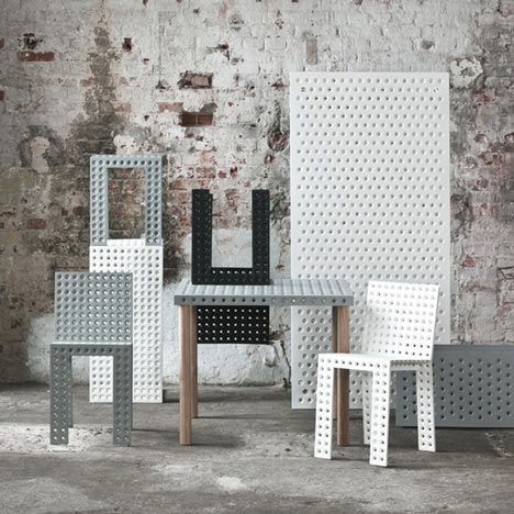 3+ Furniture Collection By Oskar Zieta