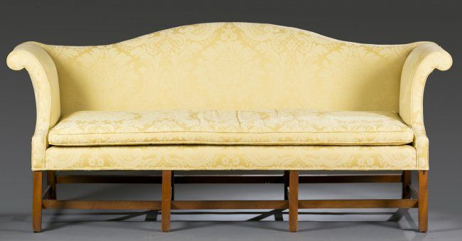 Camel Back Couch Slipcover