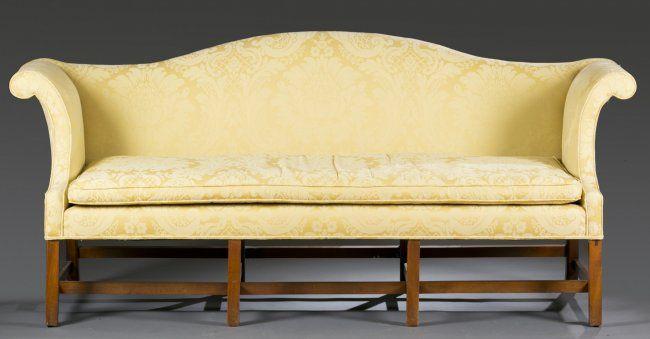 Chippendale Camelback Sofa Slipcovers Modern Camelback