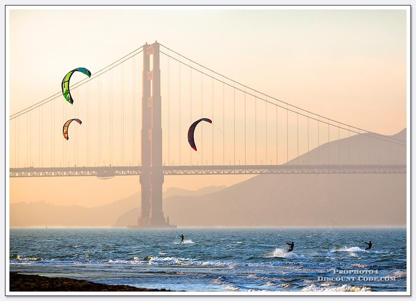 Kite Surfing  This looks FUN!!!