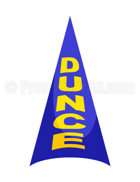 dunce hat template - printable dunce cap photo booth prop create diy props