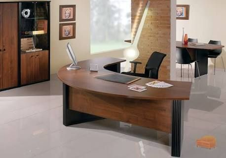 Curved Desk Google Search Home Office Furniture Desk Curved