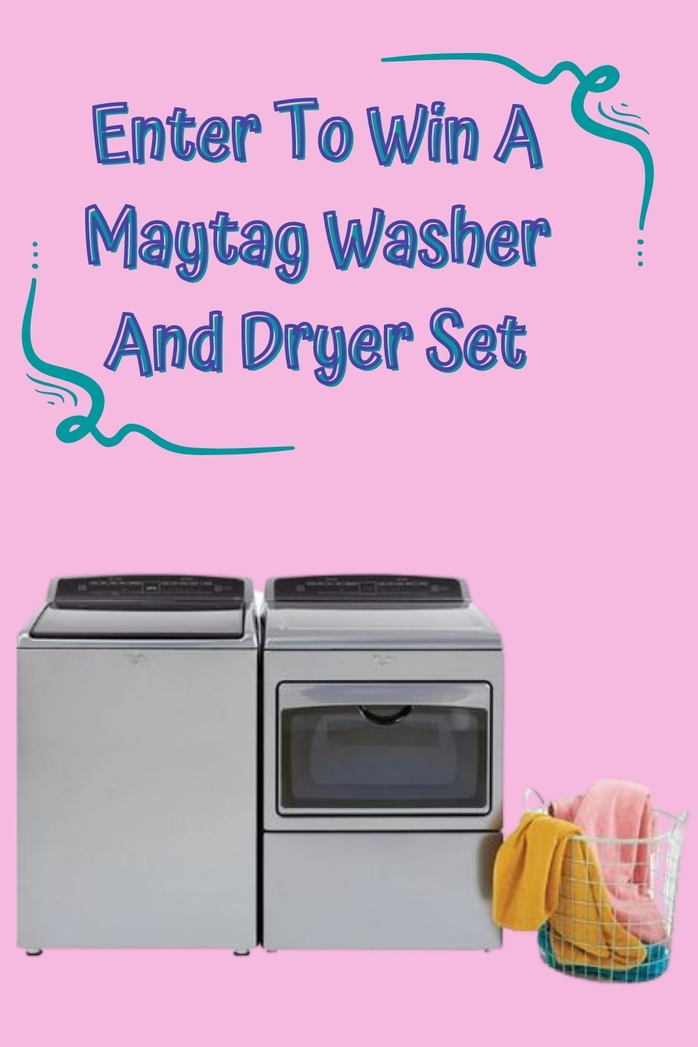 Win A Maytag Washer And Dryer In 2020 Maytag Washer And Dryer Washer And Dryer Maytag Washers