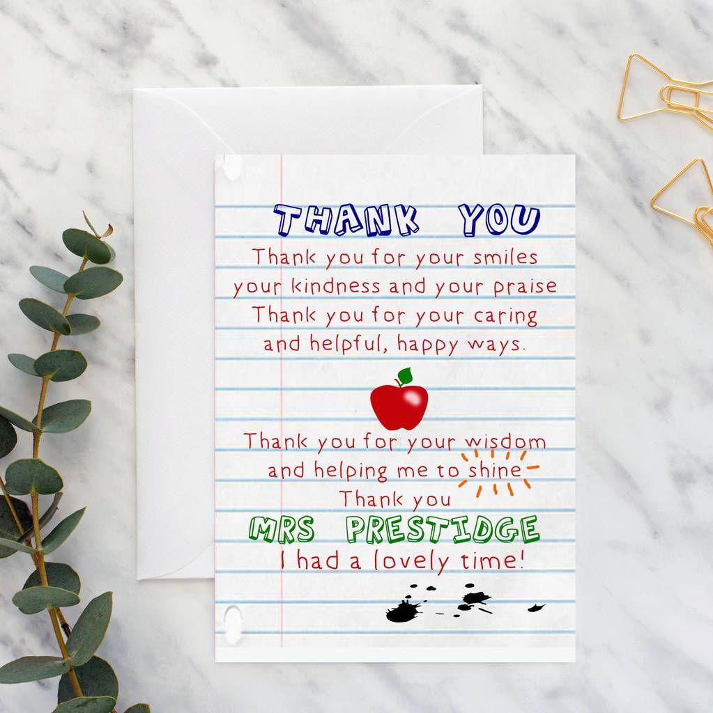 Last Minute Teacher Gift Ideas Teacher Appreciation Letter Letter To Teacher Teacher Appreciation Printables
