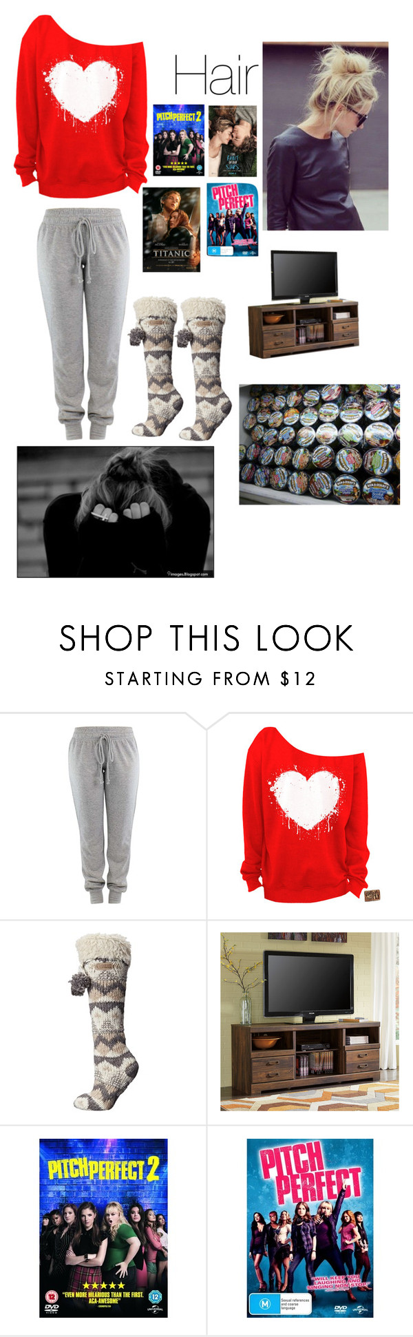 """""""Heartbreak"""" by wildstyles2088 ❤ liked on Polyvore featuring Bedroom Athletics and Signature Design by Ashley"""