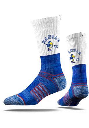 Kansas Jayhawks Sock Store University Of Kansas Dress Socks Argyle Socks Crew Socks Mens Crew Socks Argyle Socks Crew Socks