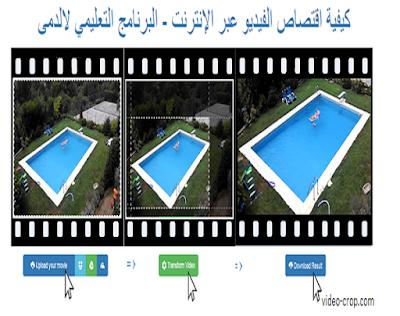 كيفية قص جزء من شاشة الفيديو بدون برنامج مداد الجليد Video Tablet
