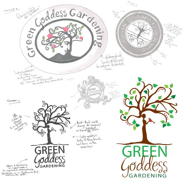 New Logo For A Gardening Company   Designed By Kelle, York Print Company,  York