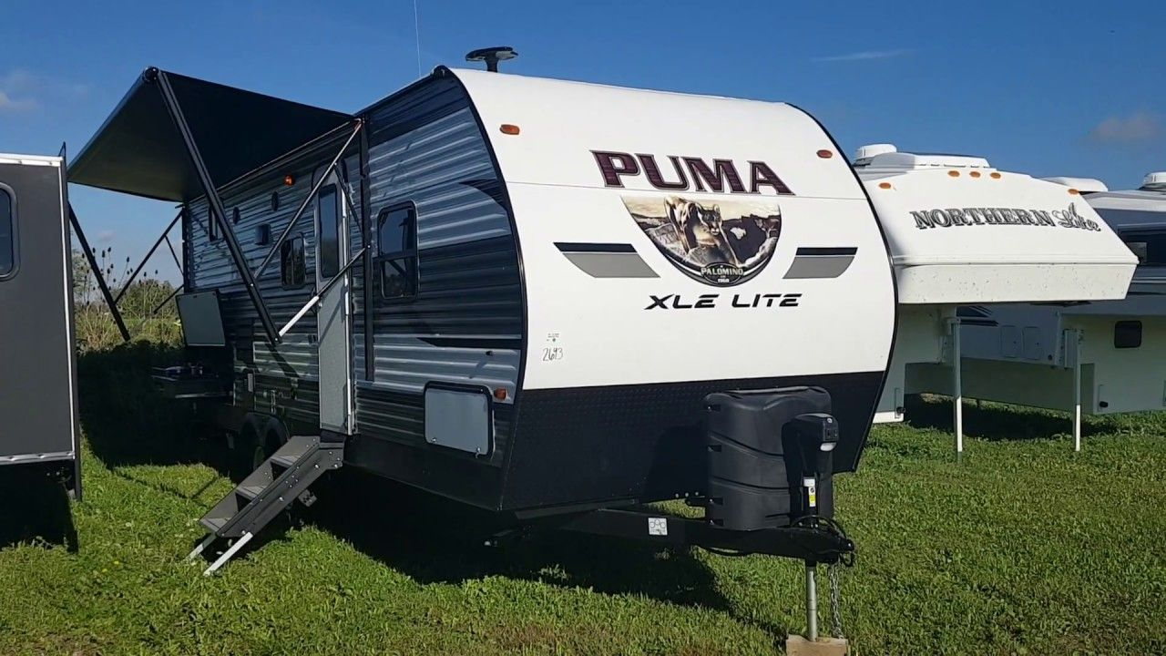 New 2019 Palomino Puma Xle Lite 24bhc Travel Trailer At D D Rv