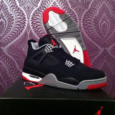 For Sale Air Jordan 4 Bred Brand New ! (size 7)