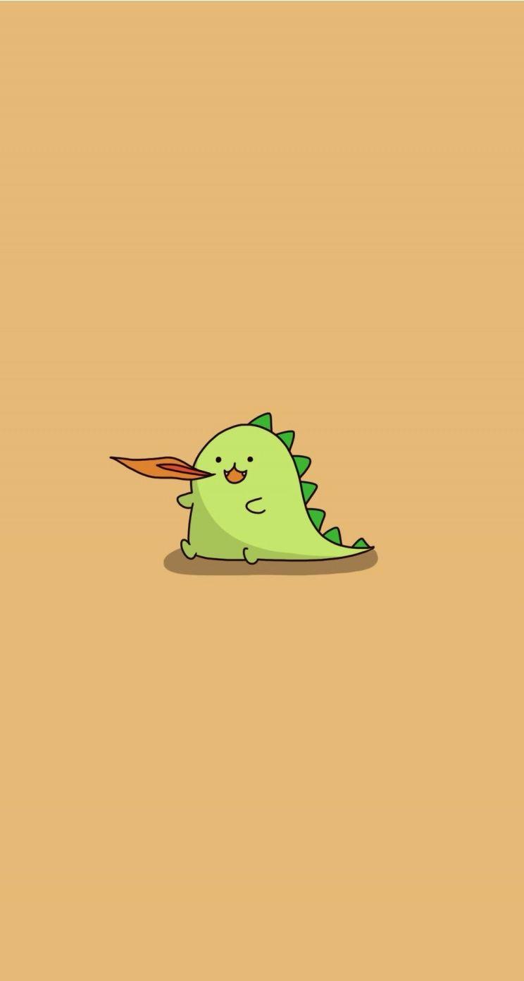 BWARRR!!! Dinosaur. Tap for more Chibi Chii's Wallpapers