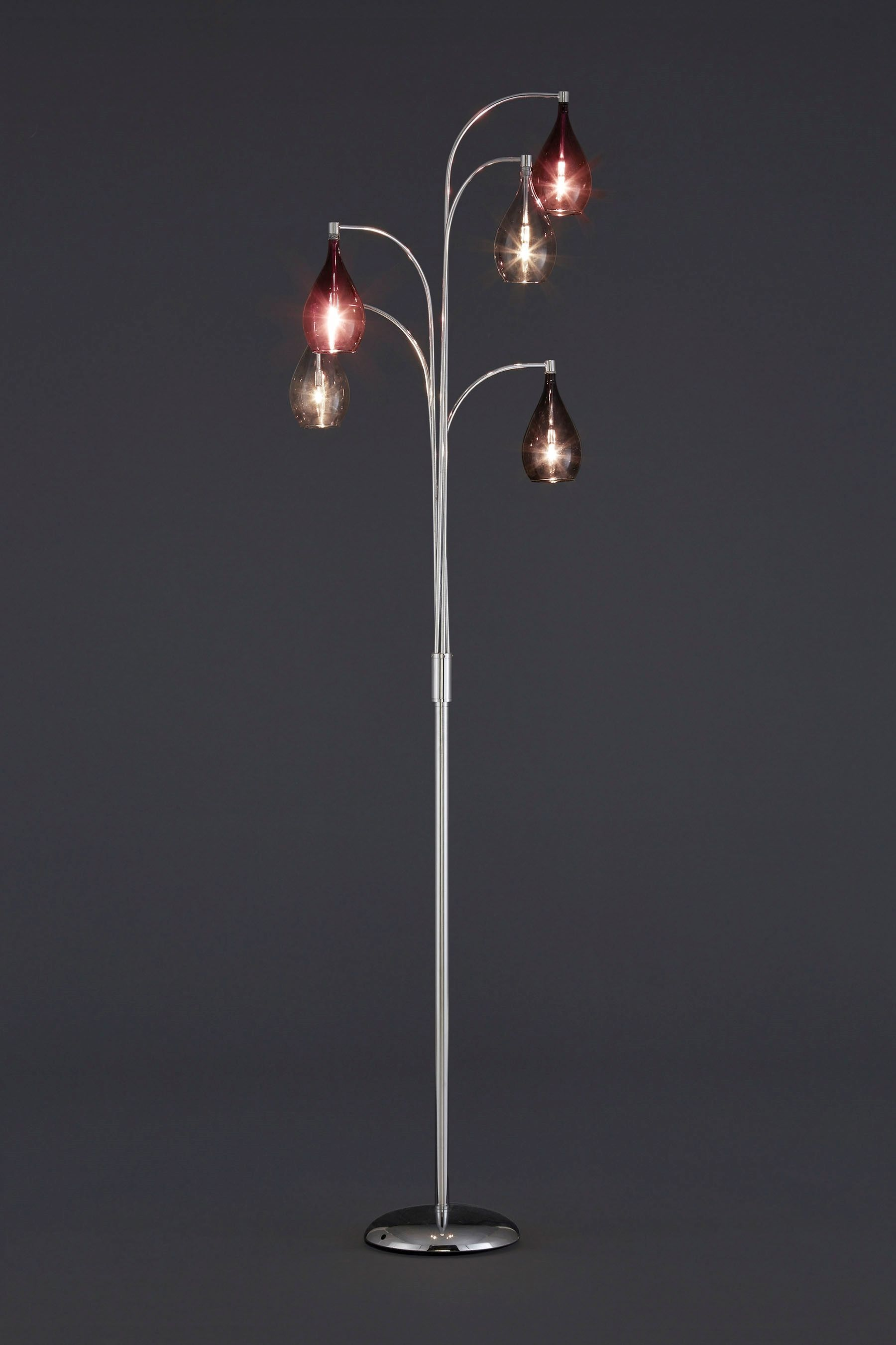 Buy hanbury 5 light floor lamp with plum shades from the next uk buy hanbury 5 light floor lamp with plum shades from the next uk online shop aloadofball Image collections