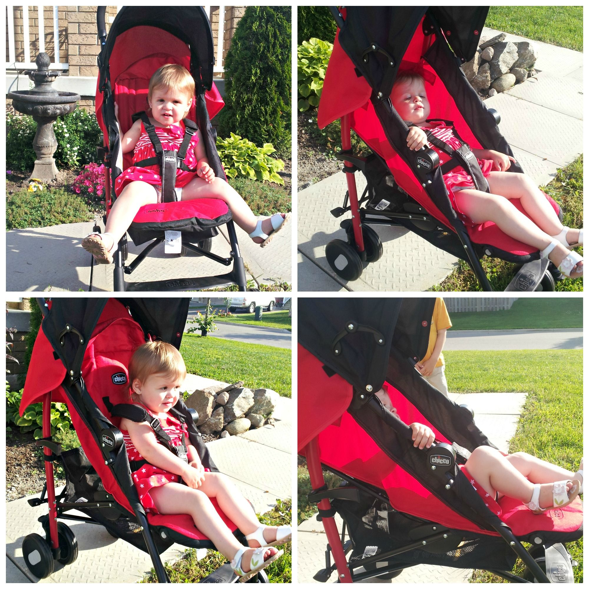 Strolling for a new ride! Chicco Echo Stroller review