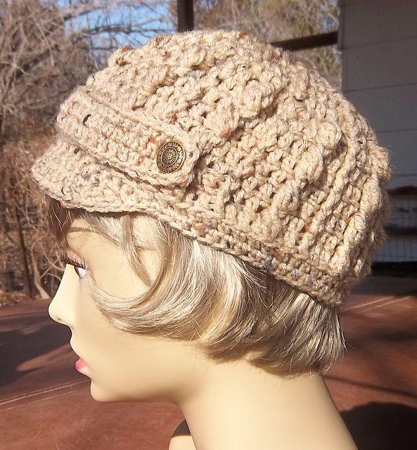 Ravelry: the Katy cap pattern by StitchLeft | Crochet Hats, Scarves ...