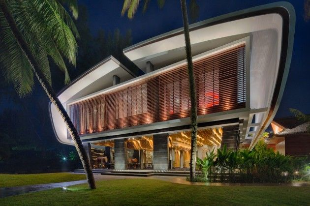 a cero joaquin torres arquitectos have designed the interiors of a villa and the restaurant at the iniala beach house in phuket thailand