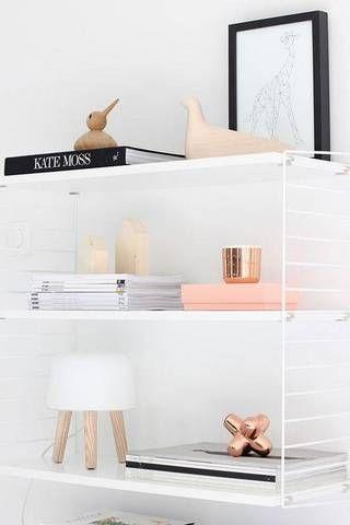 how to decorate shelves 57 best shelfies scandinavian inspired rh pinterest com