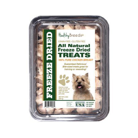 Healthy Breeds Cairn Terrier All Natural Freeze Dried Treats Chicken Breast 8 oz