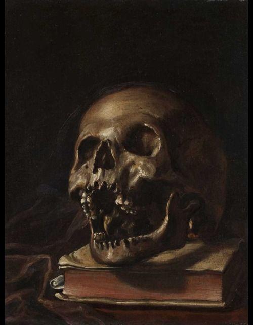 ~ Domenico Fetti {1689-1723 } - Vanitas
