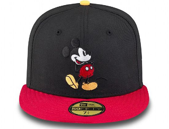 Custom Mickey Mouse 59Fifty Fitted Cap by NEW ERA x DISNEY ... e0f531f56a8a