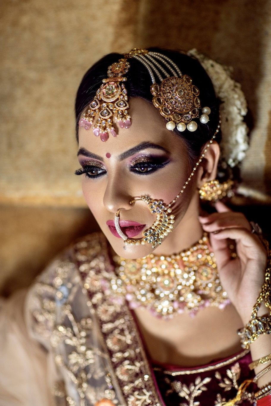 Pin By Thomas On Bridal Jewellery Best Bridal Makeup Bridal Eye Makeup Bridal Makeup