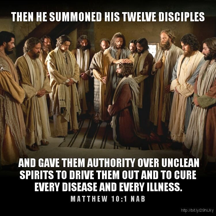 Image result for matthew 10:1-7