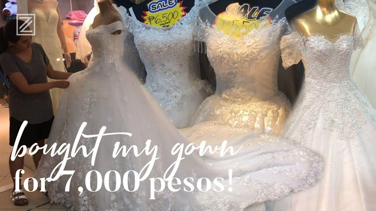 Divisoria Wedding Gowns 168 Mall D8 Mall Tabora Street Wethetzn Vlog 71 Gaun Pengantin Blog Instagram