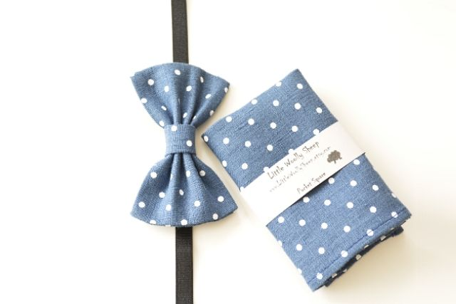www.LittleWoolly Sheep.etsy.com / men pocket square / men bow tie / linen bow tie / linen pocket square / wedding accessories / gifts for him / Father's day gifts