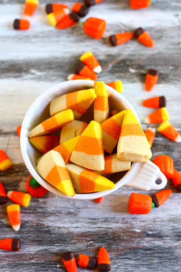 Candy Corn Cookies--these are theeee most delicious cookies! I make them every year.