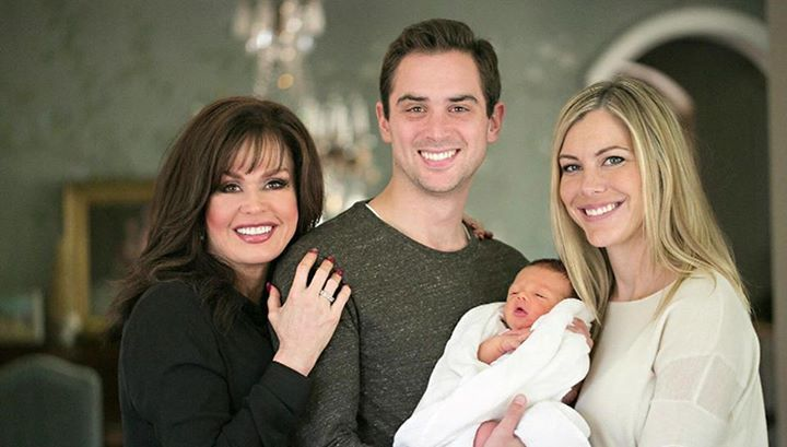 Marie with oldest son Stephen, his son Stephen Jr, and his ...