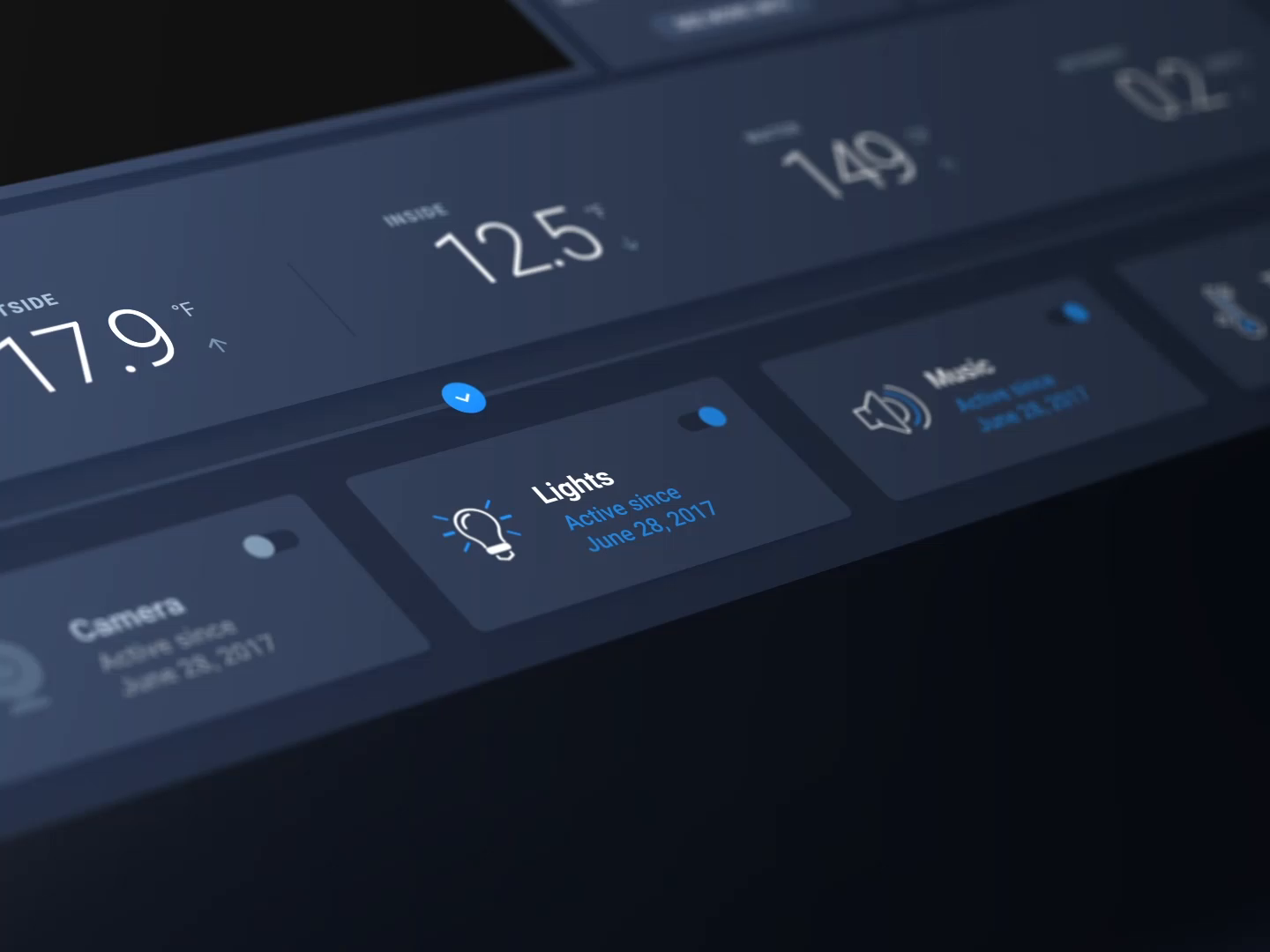 Smart Home—A digital UI kit for the physical world