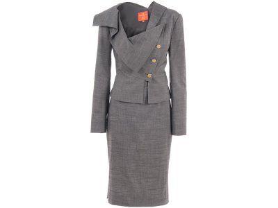 Vivienne Westwood Asymmetric Suit