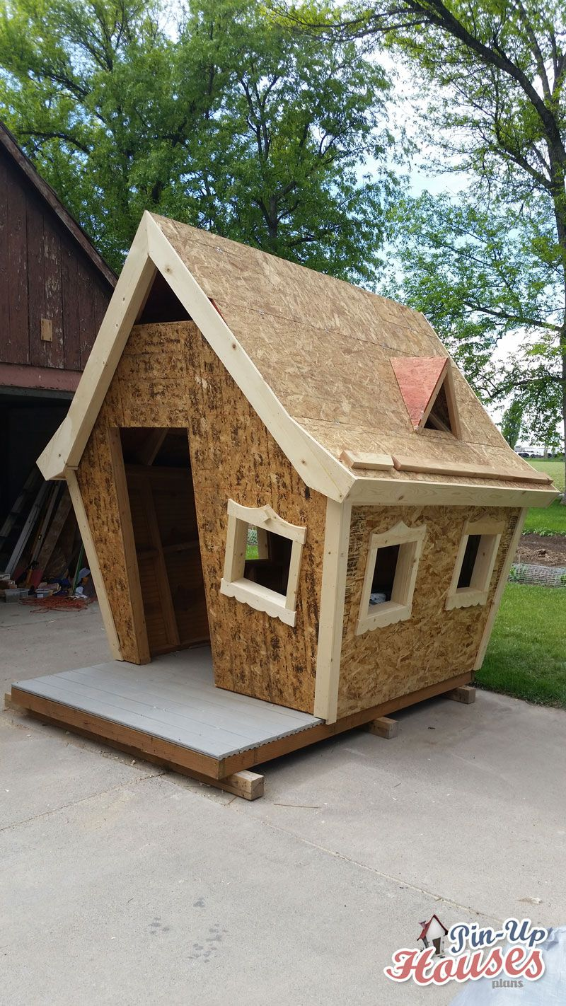 Crooked Kids Playhouse for a Fundraiser