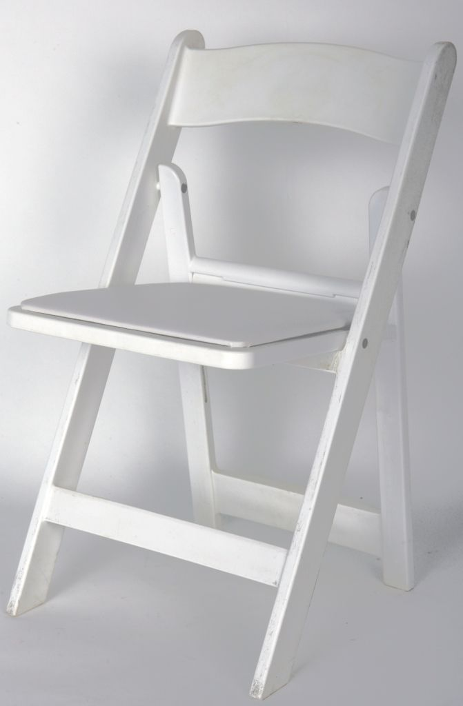 Delicieux White Resin Fold Up Chair   DÉCOR HIRE CATALOGUE   Romeou0027s Chair