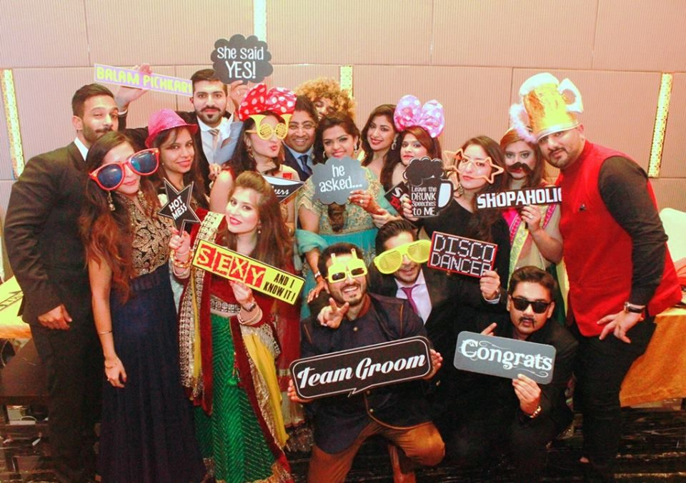 wedding photo booth props printable%0A   Reasons Why Indian Couples Must Have A Photo Booth At Their Wedding   BollywoodShaadis