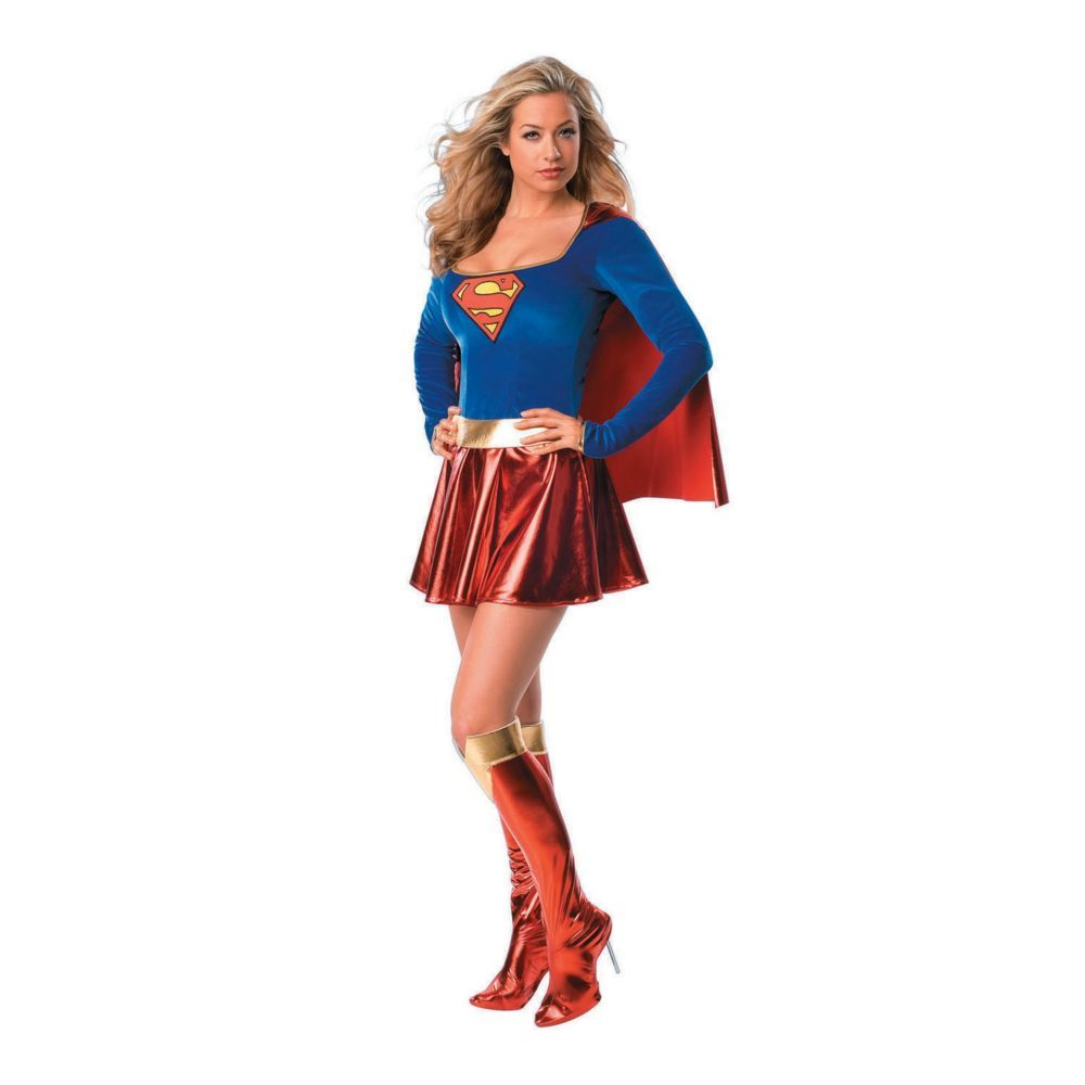 Quatang Gallery- Women S Supergirl Tm One Piece Costume Small In 2020 Costumes For Women Supergirl Halloween Costume Supergirl Halloween