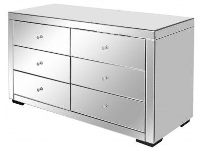 foter mirrored drawers drawer explore of glass chest