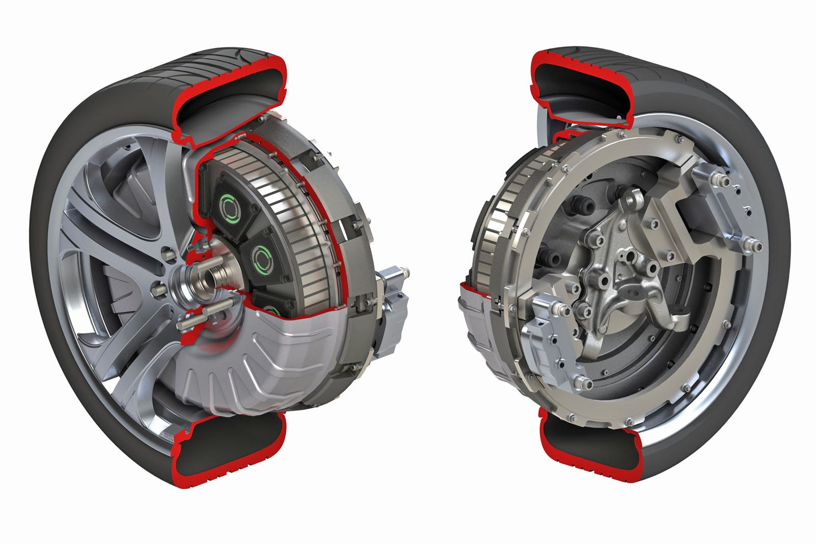 Another In Wheel Electric Motor Maybe One Day Suspension Engineers Go Back Gt Gallery For Brushless Diagram Will Save The And Figure Out How To Deal With Huge Increase Unsprung Weight