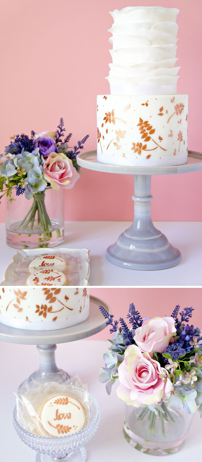 Amazing Ways to Create the Perfect Wedding Cake Display | Pinterest ...